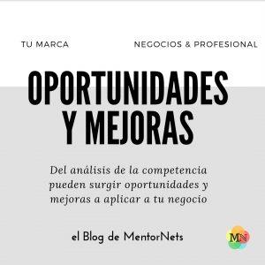 Tu Marca; Análisis de la Competencia Mentornets
